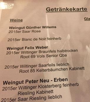 Saarweingut Felix Weber, Wiltingen, Saarwein, Mosel Riesling