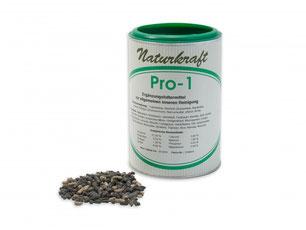 PRO 1 NATURKRAFT die Wurmkur für Hunde. Pro 1 Kräutermischung, die speziell zur allgemeinen inneren Reinigung bei ihrem Hund.