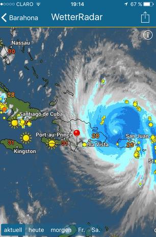 Dom Rep, Dominikanische Republik, Hurrikan, Hurrican, Maria