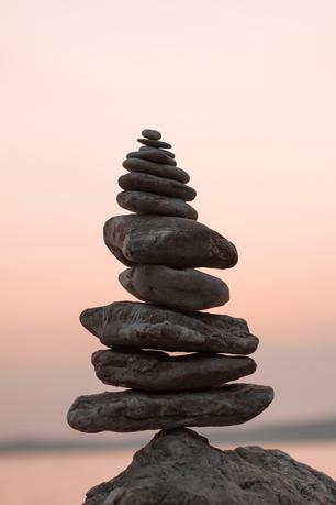 Entspannen und einfach die Seele baumeln lassen bei einer Hot Stone Massage