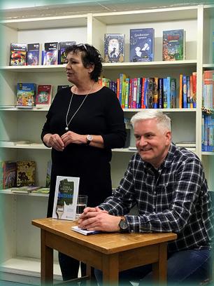 Eva Klingler und Wolfgang Wegner bei der Lesung am 24. Januar.