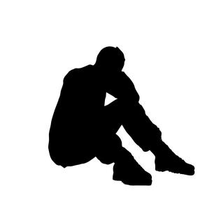 Verzweifelte Haltung