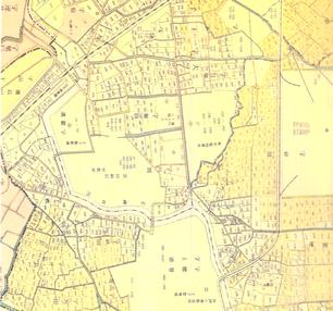 明治43年の地図