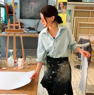 bleibe Zuhause und male kleine Kunstwerke
