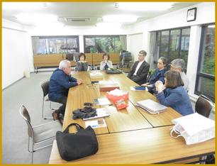 Im Kansai Seminar Haus mit Pfarrer Spennemannn