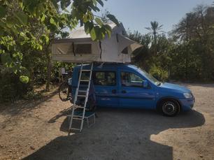 Camping Malvarrosa de Corinto. Man spricht und schimpft auf deutsch.😃