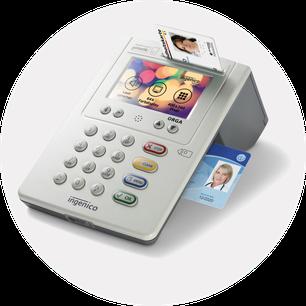 abasoft Telematikinfrastruktur Praxissoftware Arztsoftware Kartenlesegerät TI Ingenico eGK