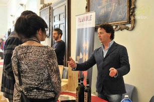 Fabrizio Doveri in gesprek met wijnliefhebbers