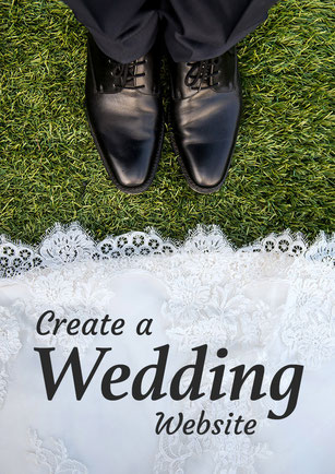 create a wedding website