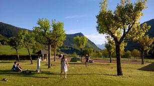 Badmington, camping Sappey en Chartreuse, Saint-Eynard