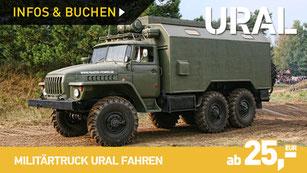 Militärtruck URAL 4320 selber fahren