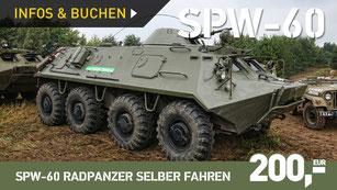 SPW-60 Radpanzer selber fahren