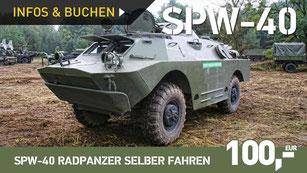 SPW-40 Radpanzer selber fahren
