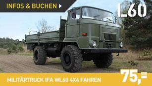Militärtruck GAZ 66 selber fahren