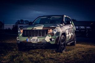 Jeep Camouflage Folierung Digitaldruck Rheine Osnabrück Ibbenbüren