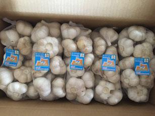 青森県産 にんにく 業務用 1kg ホワイト六片 Lサイズ中心
