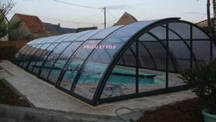 abri de piscine, Priou et Fils, 41700 Contres, Blois, Loir et Cher