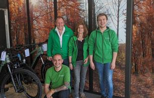 Die e-motion e-Bike Experten in der e-motion e-Bike Welt in Münchberg