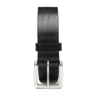 Ledergürtel zur Jeans in Schwarz