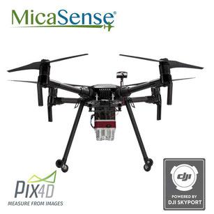 Parrot Disco Pro AG es un dron ala fija con cámara multiespectral y software