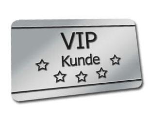 VIP Kunde Registrierung