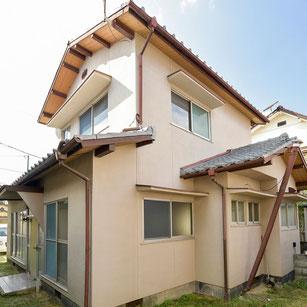 総社市三輪の中古住宅 外観写真