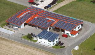 Luftbild Schurr Gerätebau GmbH 2012 Büro + Produktion