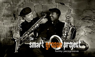 smart groove project - mit Ron Faust am Saxophon, didgeridoo & Shanaka Perera am Electric Piano, programming