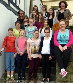 Teens in Takt - Leitung: Marianne Markert