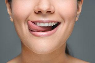 Ein tolles Gefühl, glatte und saubere Zähne, straffes Zahnfleisch und frischer Atem