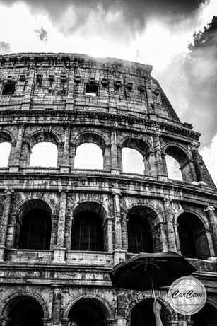 Rome, Roma, love, black and white, noir et blanc, art, street photography, CarCam, travel