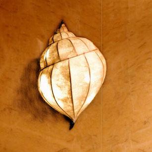 Wandlampe Schneckenlampe  Schnecke