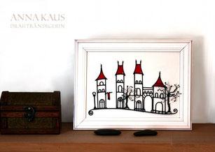 Miniaturbild Weingartenstraße Fachwerkhäuser rote Dächer