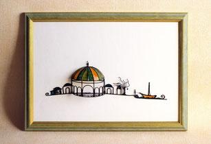 Miniaturbild Marokkanische Kuppel mit Rahmen