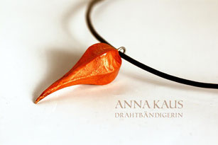 Sweet Chili Halsband orange