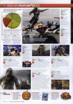 Magazine preview - Xbox 360 Official (2007) + Mafia 2