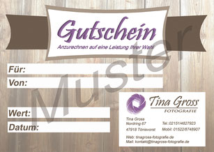 Gutschein - Variante 1
