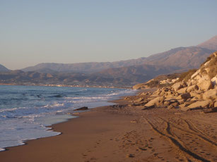 Strand bei Kalamaki