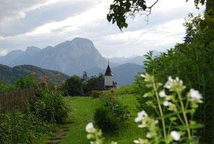 Antoniuskapelle - Blick zum Pendling