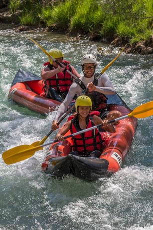 Canoe Verdon, Canoe Castellane, Canoe Alpes du Sud, canoe kayak verdon castellane