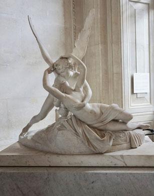 Sculptures musée du louvre