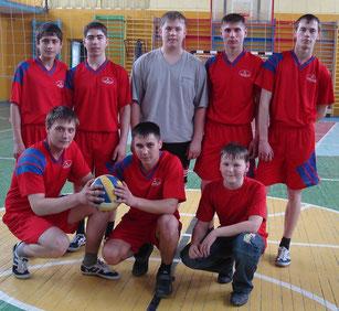 команда воллейболистов