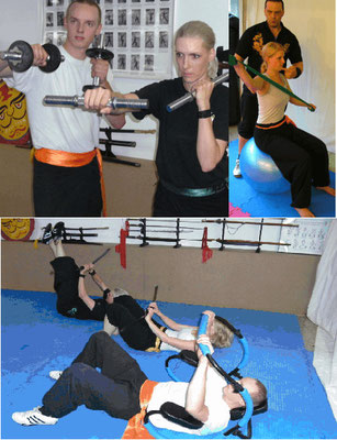 Kung Fu mit modernen Trainingsmethoden