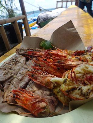 Jimbaran Buy fish fischmarkt Bali