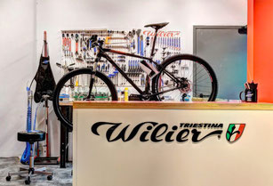 Wilier Service afdeling Italian Cycle Experience