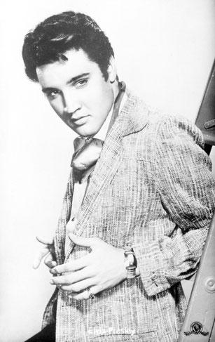 Elvis-Metro-Goldwyn-Mayer-Autogrammkarte,  Sammlung Annemarie Nickel-Kleindienst