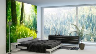 Leuchtdisplay auch für Wände geeignet