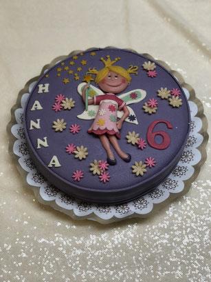 Kindergeburtstag Torte, Kindergeburtstagstorte Fee