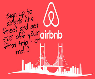 Sigh up for airbnb - free money on us