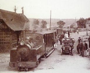 La station du tramway à Cabourg - Coll Quetron
